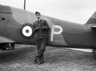 Asisbiz Hurricane I RAF 73Sqn P Paddy III flown by PO EJ Kain France 1940 IWM CH1147