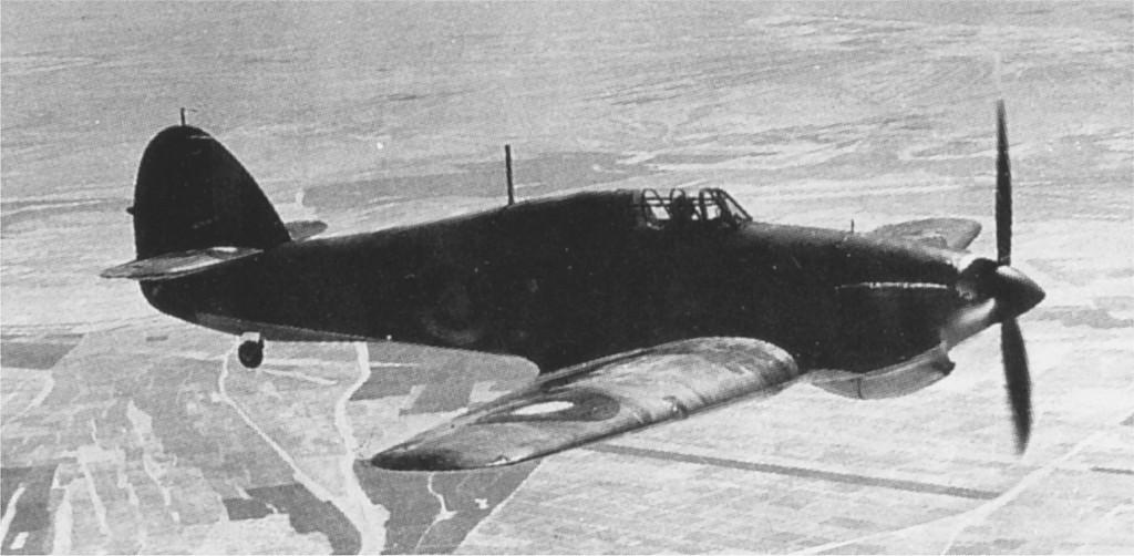 Hurricane I Trop RAF 80Sqn J Pattle L1669 Collies Battleship Paramithia Greece Feb 1941 01