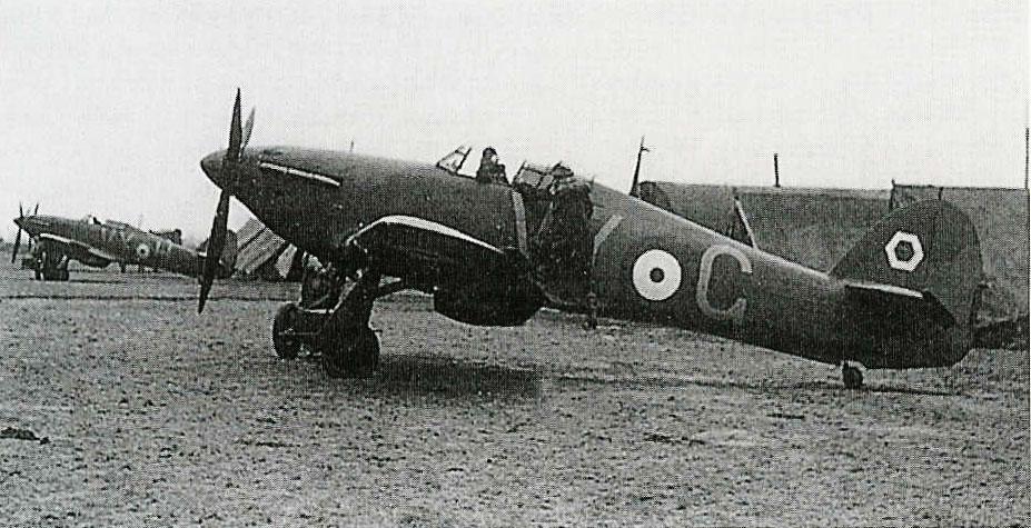 Hawker Hurricane I RAF 85Sqn VYG VYH 1940 01