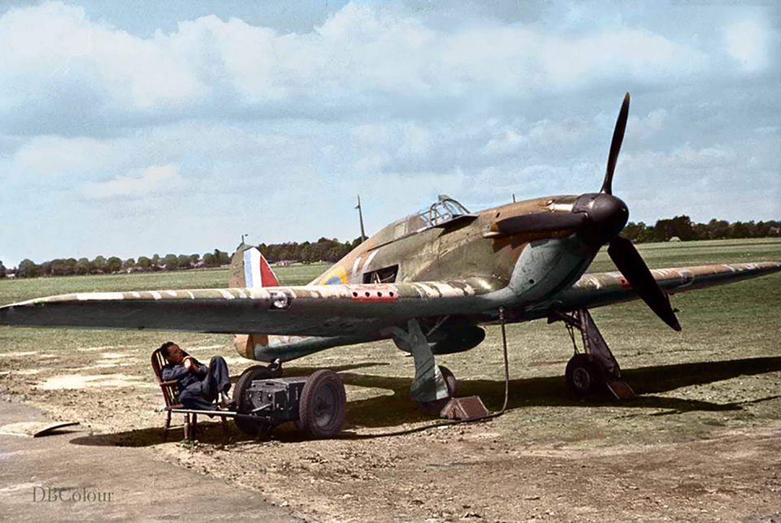 Hawker Hurricane I RAF 85Sqn VYK Geoffrey Sammy Allard P3408 England July 1940 01