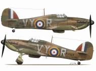 Asisbiz Hawker Hurricane I RAF 85Sqn VYR Albert G Lewis P2923 Croydon Aug 1940 TC15016