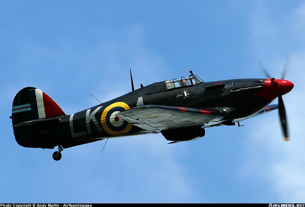 Airworthy Warbird Hurricane MkI RAF 87Sqn LKA Ian Gleed P2798 England 1941 03