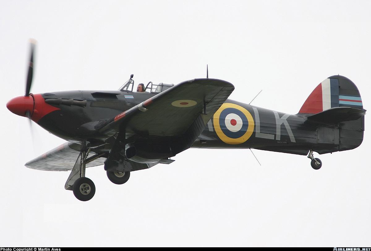 Airworthy Warbird Hurricane MkI RAF 87Sqn LKA Ian Gleed P2798 England 1941 04
