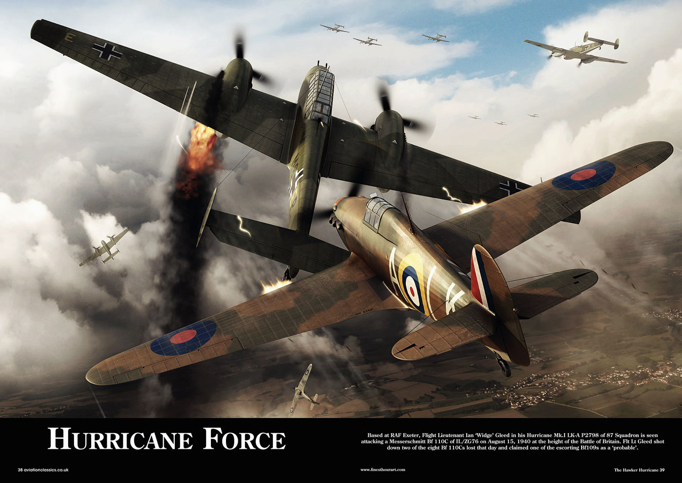 Artwork titled Hurricane Force by finesthourart published in Aviation Classics 0A