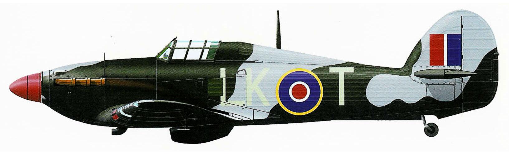 Hurricane IIa RAF 87Sqn LKT based at RAF Colerne England 1942 0A