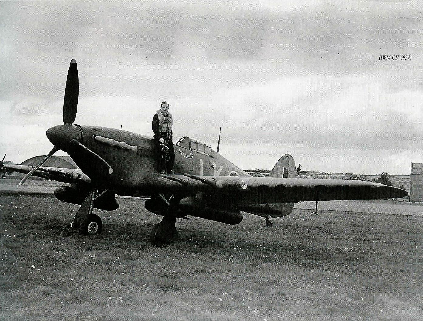 Hurricane IIc RAF 87Sqn LKR Night Duty Z3353 England 1941 03