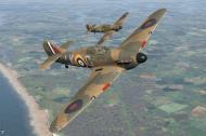 Asisbiz COD KF Hurricane I RAF 87Sqn LKG Watson England Aug 1940 V0A