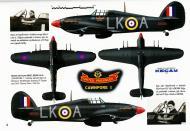 Asisbiz Hurricane IIc RAF 87Sqn LKA Ian Gleed BE500 England 1941 0A
