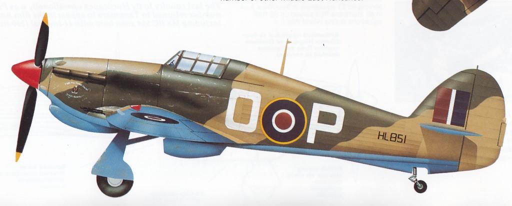 Hawker Hurricane IIc Trop RAF 94Sqn GOP HL851 North Africa 1942 0A