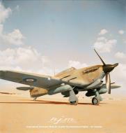 Asisbiz Hawker Hurricane IIc Trop RAF 94Sqn HL844 the Mac Robert Fighter Sir Alasdair IWM CM3401a