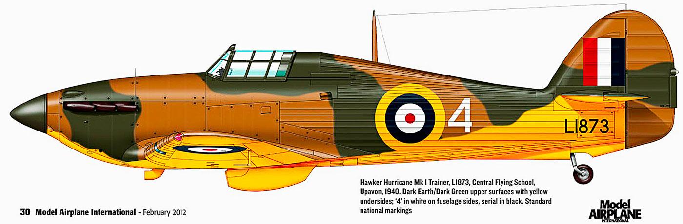 Artwork I RAF Flying School 4 L1873 Gunnery Flight Central Flying School Upharon 1940 0A