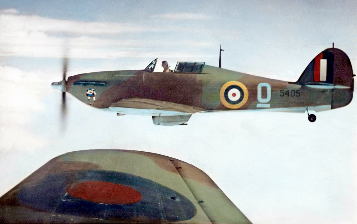 Canadian built Hurricane 5405 used by the RCAF as a trainer 1943 01
