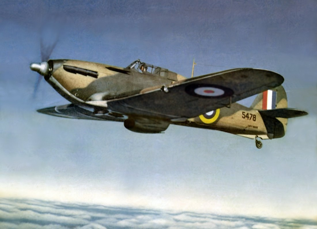 Canadian built Hurricane 5478 used by the RCAF as a trainer 1943 01