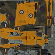 Asisbiz COD YO Hurricane I RAF Flying School 4 L1873 Gunnery Flight central Flying School Upharon 1940