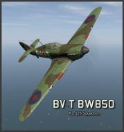 Asisbiz COD B1 Hurricane II RCAF 126Sqn BW850 Nova Scotia Canada 1942 V0A
