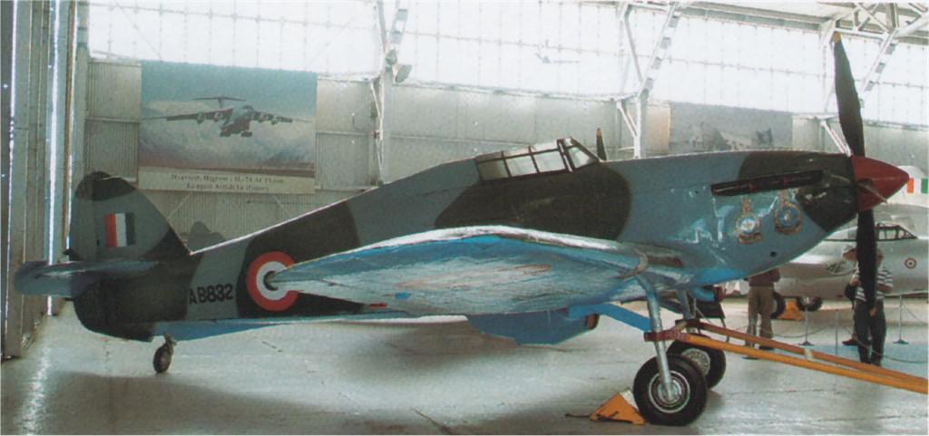 Hawker Hurricane IIb Indian AF V6846 presevered IAF Museum 01