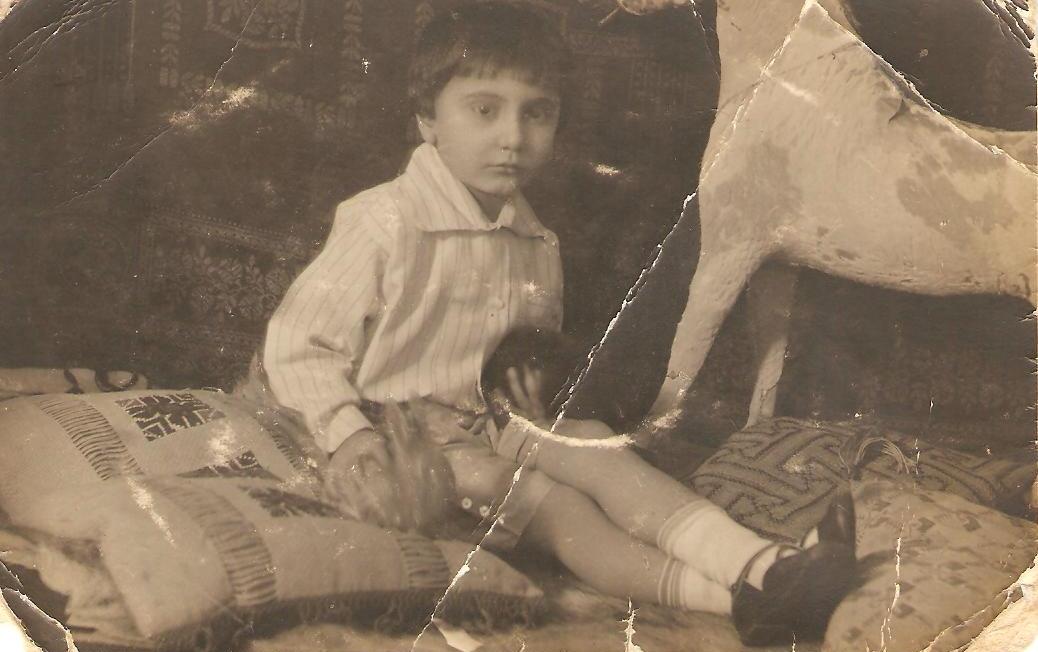 Aircrew Romanian pilot Petre Cordescu childhood photo 03