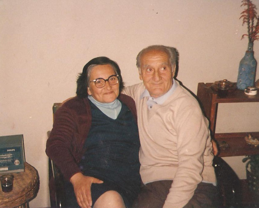Petre Cordescu in Chile with his wife and family 01