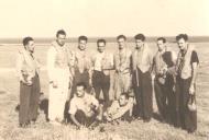 Asisbiz Aircrew Romanian pilot Petre Cordescu Romanian AF with fellow pilots 01