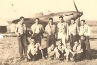 Asisbiz Aircrew Romanian pilot Petre Cordescu Romanian AF with fellow pilots 04