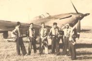Asisbiz Aircrew Romanian pilot Petre Cordescu Romanian AF with fellow pilots 05