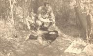 Asisbiz Aircrew Romanian pilot Petre Cordescu showing living conditions during the war Romania 01