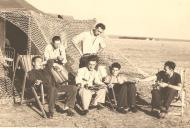 Asisbiz Aircrew Romanian pilot Petre Cordescu showing living conditions during the war Romania 13