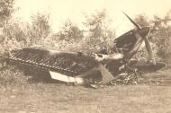 Asisbiz Hawker Hurricane RRAF Esc 53 destroyed by Luftwaffe Rumania 1941 Petre Cordescu collection 01