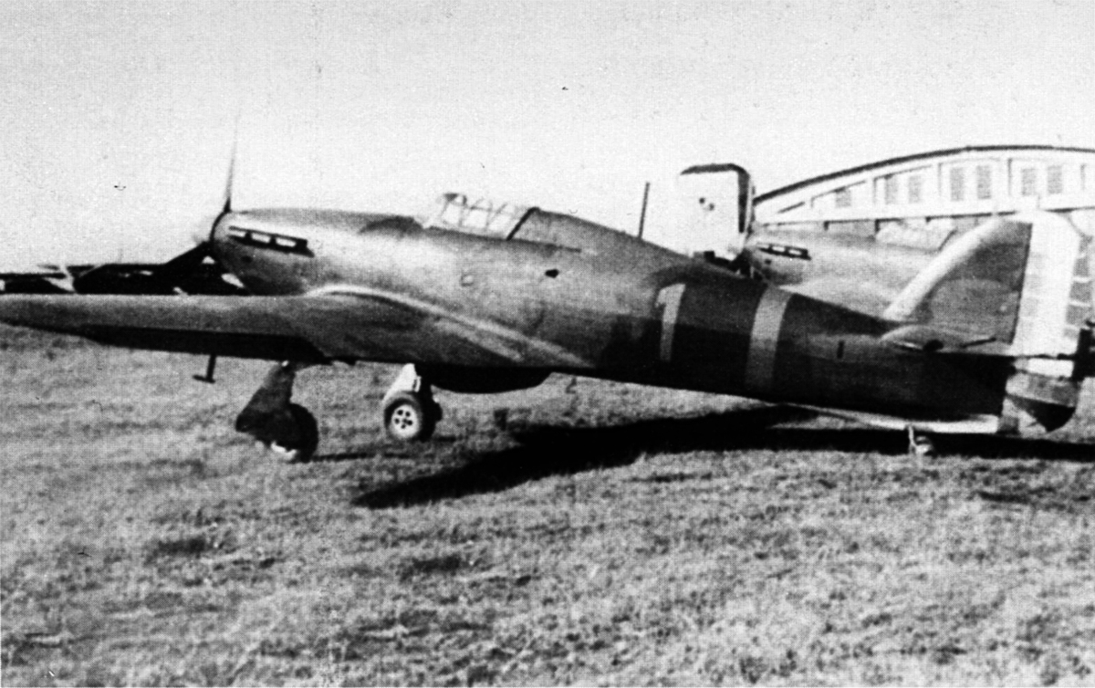 Hawker Hurricanes Rumanian AF Esc 53 1 Rumania 1941 01