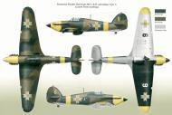 Asisbiz Hawker Hurricane Rumanian AF Esc 53 Yellow 3 Horia Agarici Rumania 1941 Mushroom 9111 0A