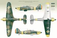 Asisbiz Hawker Hurricane Rumanian AF Esc 53 Yellow 5 Horia Agarici Rumania 1941 Mushroom 9111 0A