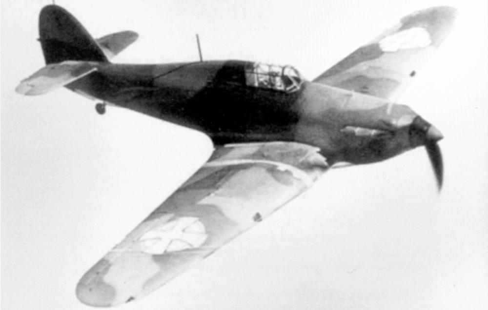 Hawker Hurricanes I Yugoslav Royal Air Force RYAF in flight 1941 02