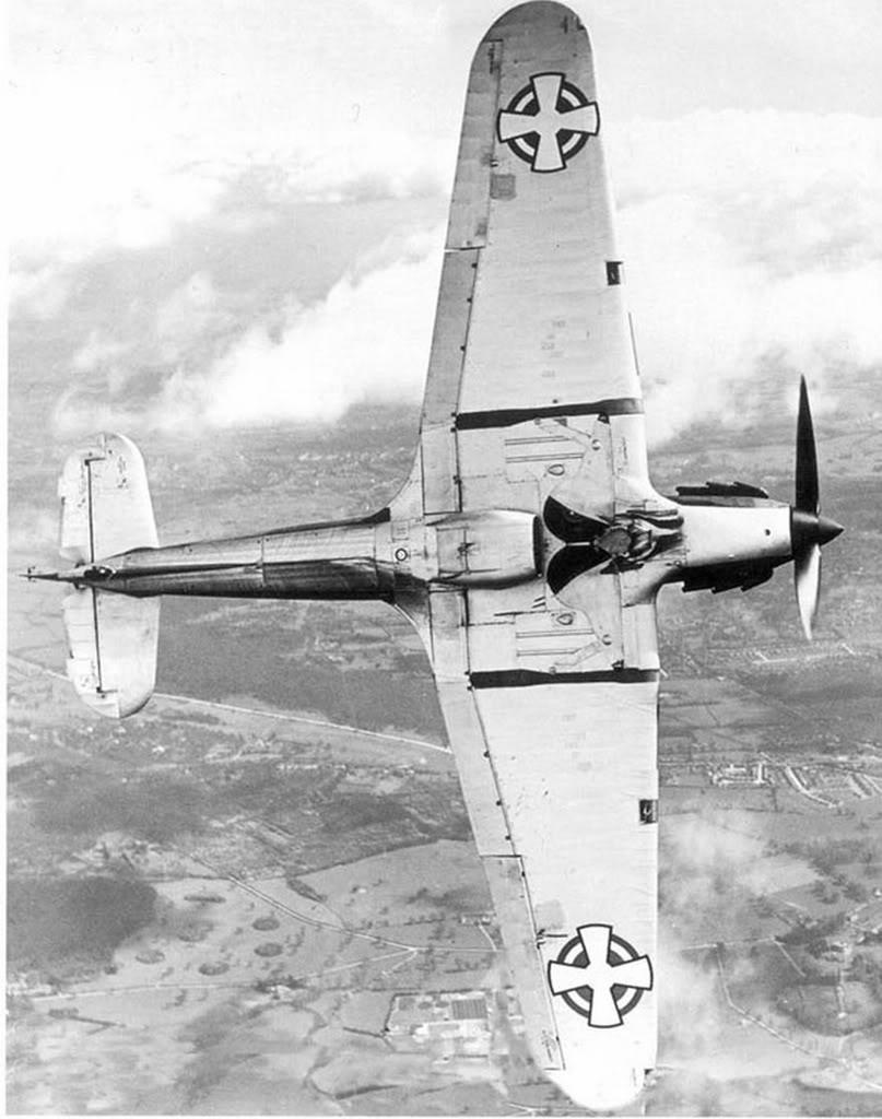 Hawker Hurricanes I Yugoslav Royal Air Force RYAF in flight 1941 03