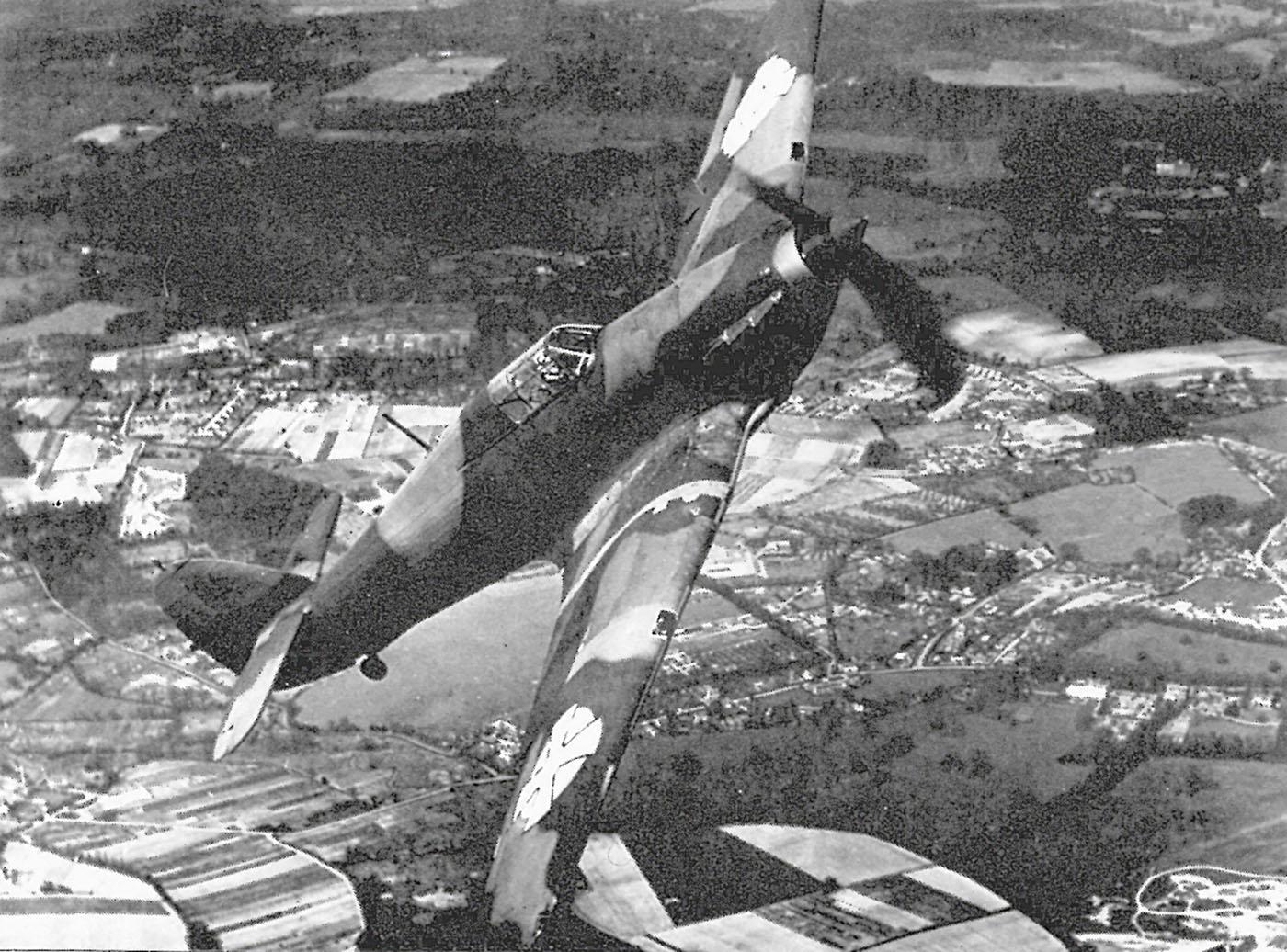 Hawker Hurricanes I Yugoslav Royal Air Force RYAF in flight 1941 04
