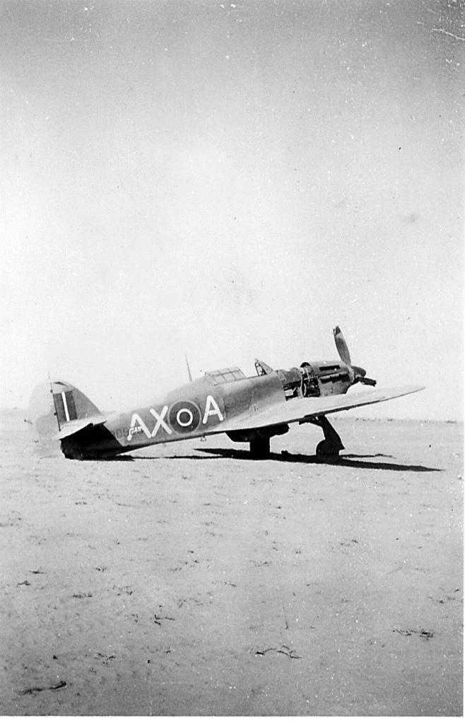Hawker Hurricane IIb SAAF 1Sqn AXA North Africa 1942 01