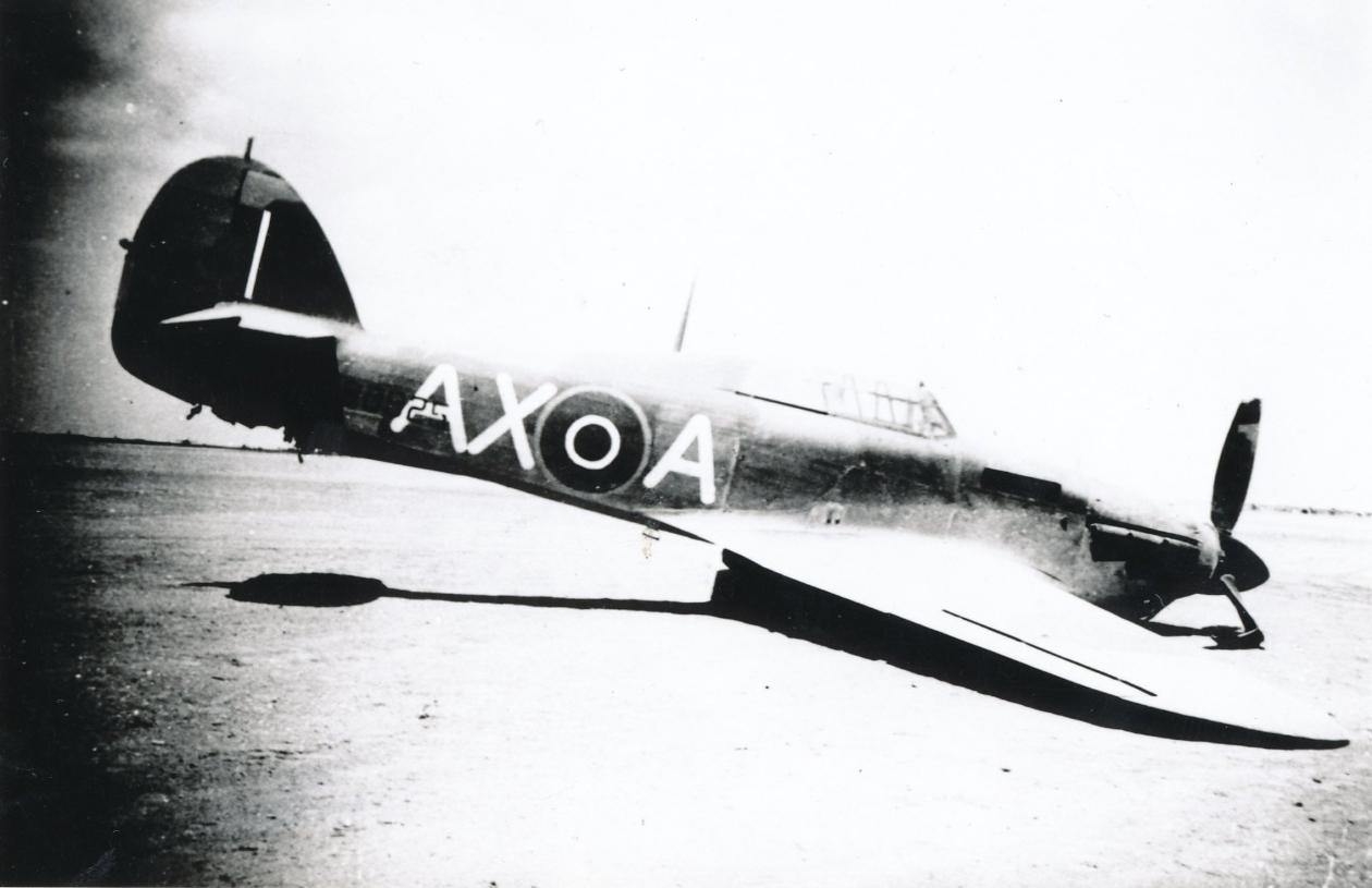 Hawker Hurricane IIb SAAF 1Sqn AXA North Africa 1942 02