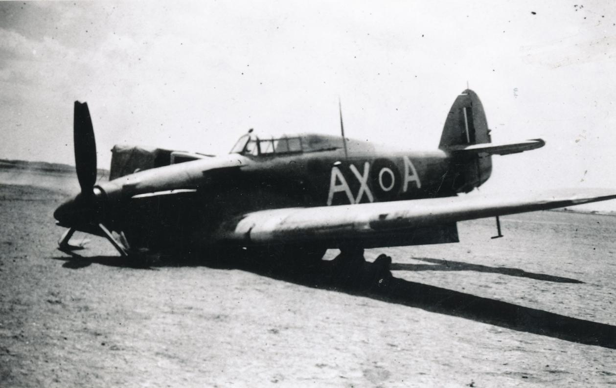Hawker Hurricane IIb SAAF 1Sqn AXA North Africa 1942 03