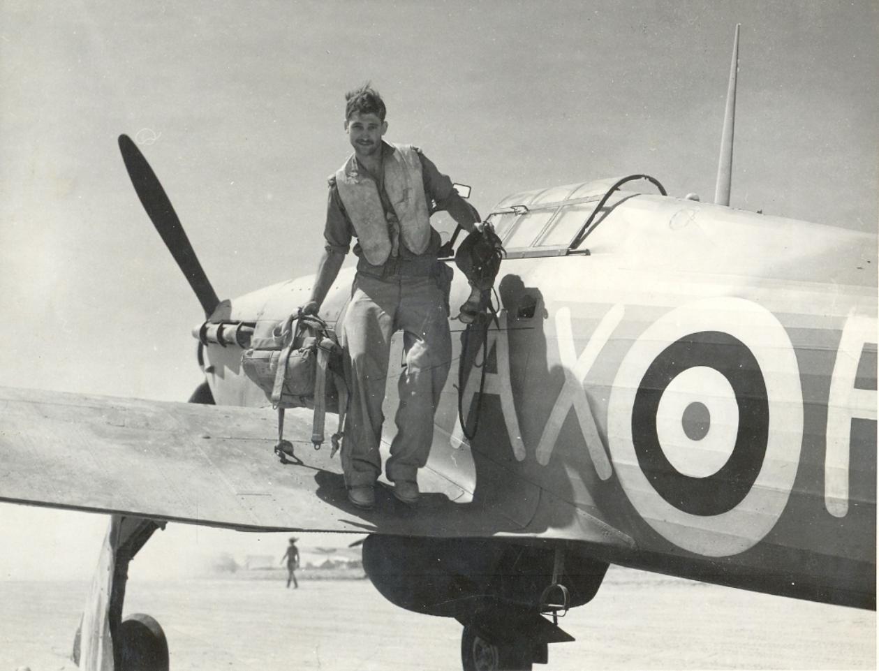 Hawker Hurricane IIb SAAF 1Sqn AXF North Africa 1942 01