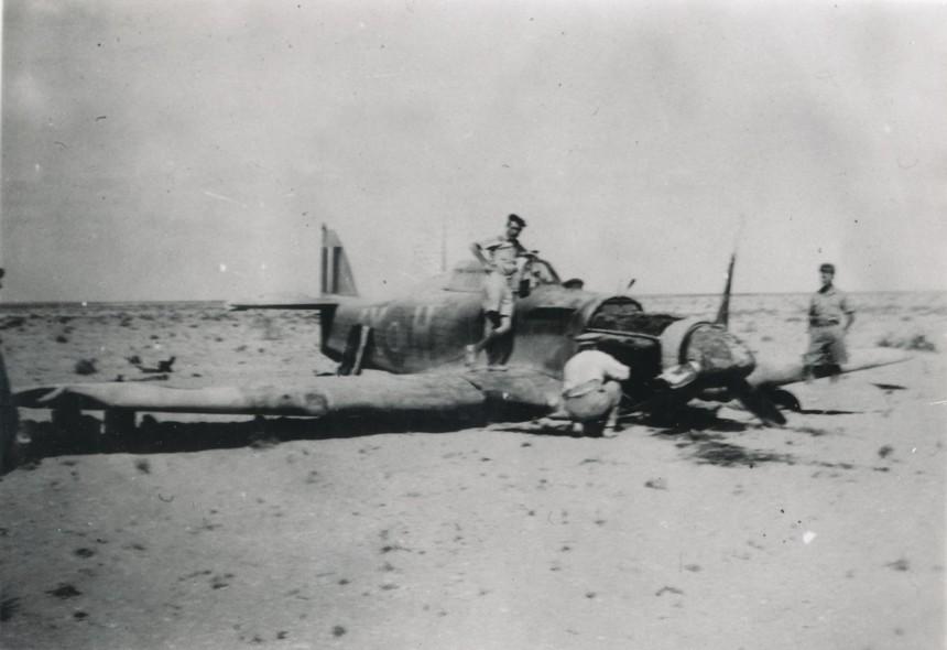 Hawker Hurricane IIb SAAF 1Sqn AXH 1942 05