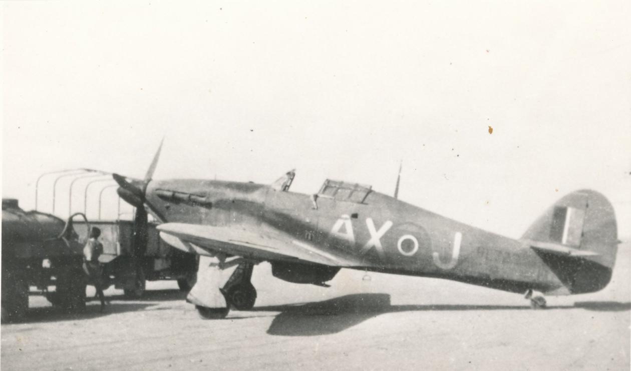 Hawker Hurricane IIb SAAF 1Sqn AXJ North Africa 1942 01
