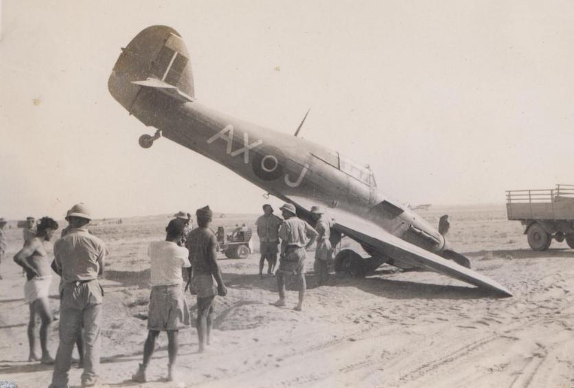 Hawker Hurricane IIb SAAF 1Sqn AXJ North Africa 1942 02