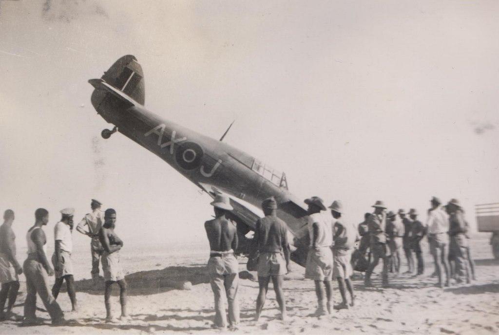 Hawker Hurricane IIb SAAF 1Sqn AXJ North Africa 1942 03