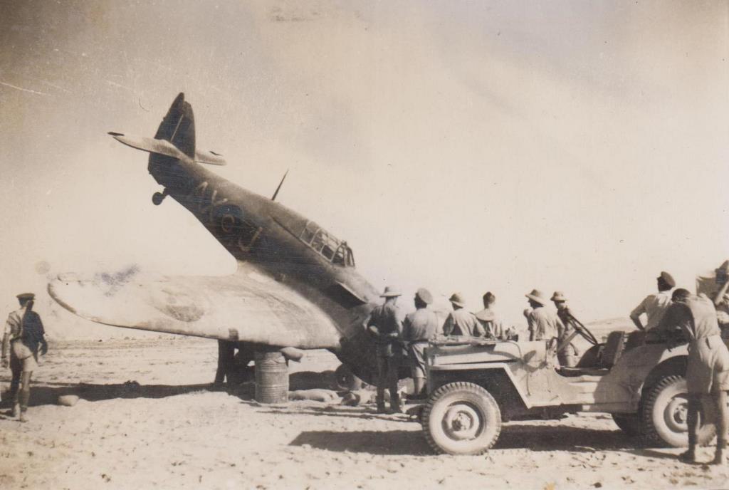 Hawker Hurricane IIb SAAF 1Sqn AXJ North Africa 1942 05