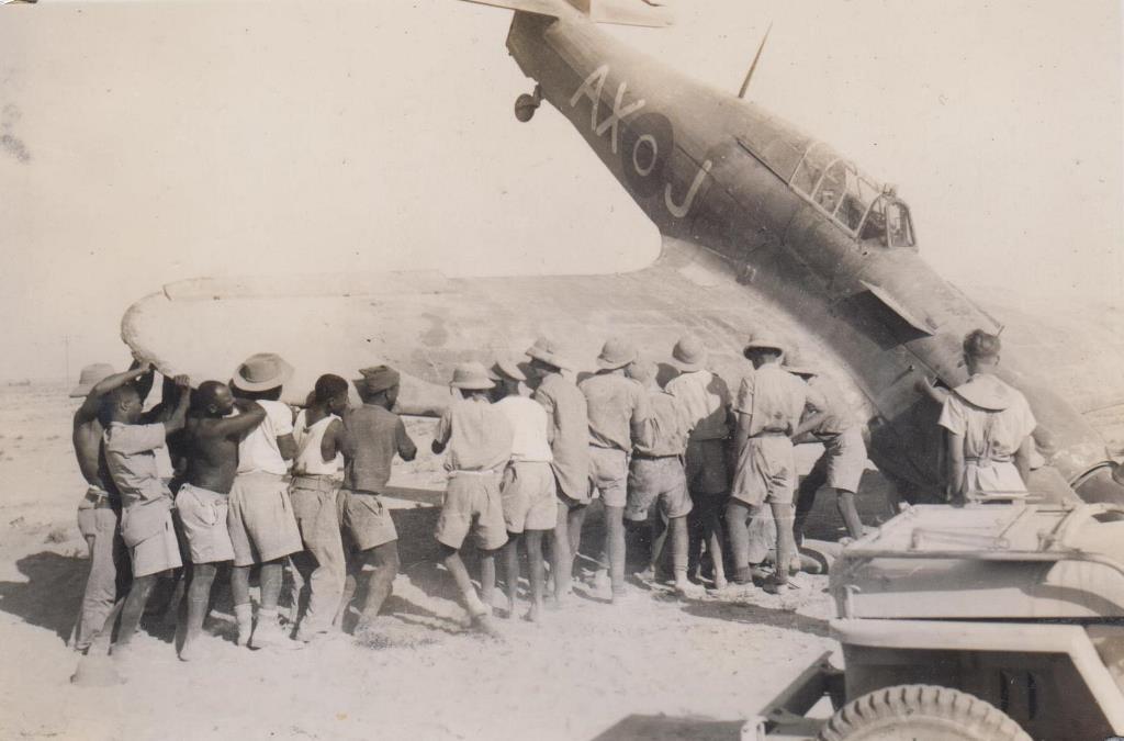 Hawker Hurricane IIb SAAF 1Sqn AXJ North Africa 1942 06