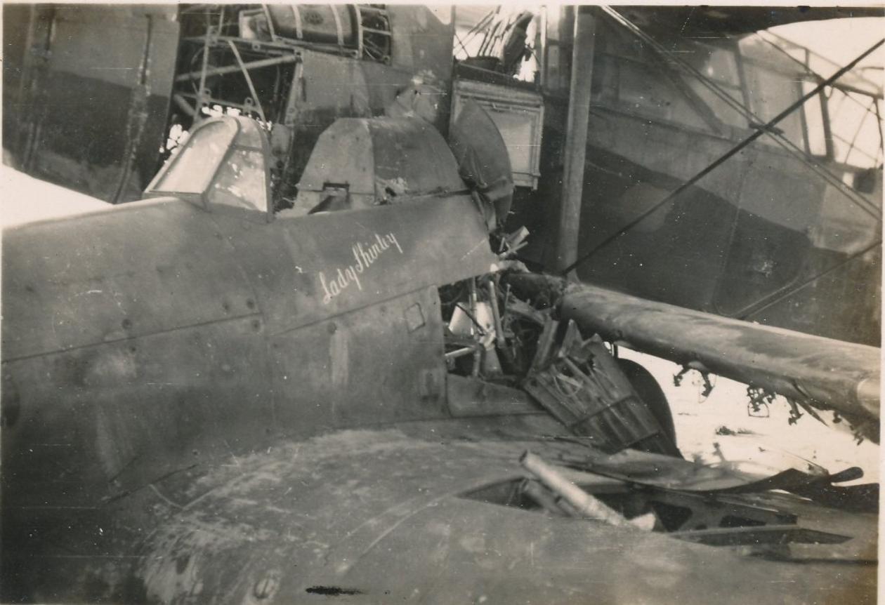 Hawker Hurricane IIb SAAF 1Sqn AXK BD888 1942 07