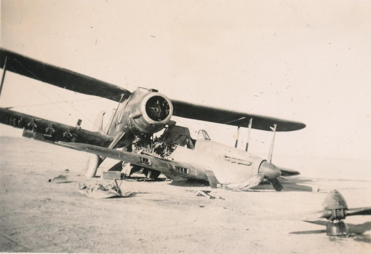 Hawker Hurricane IIb SAAF 1Sqn AXK BD888 1942 09