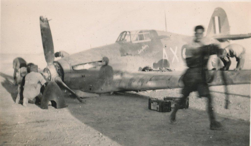 Hawker Hurricane IIb SAAF 1Sqn AXK BD888 1942 10
