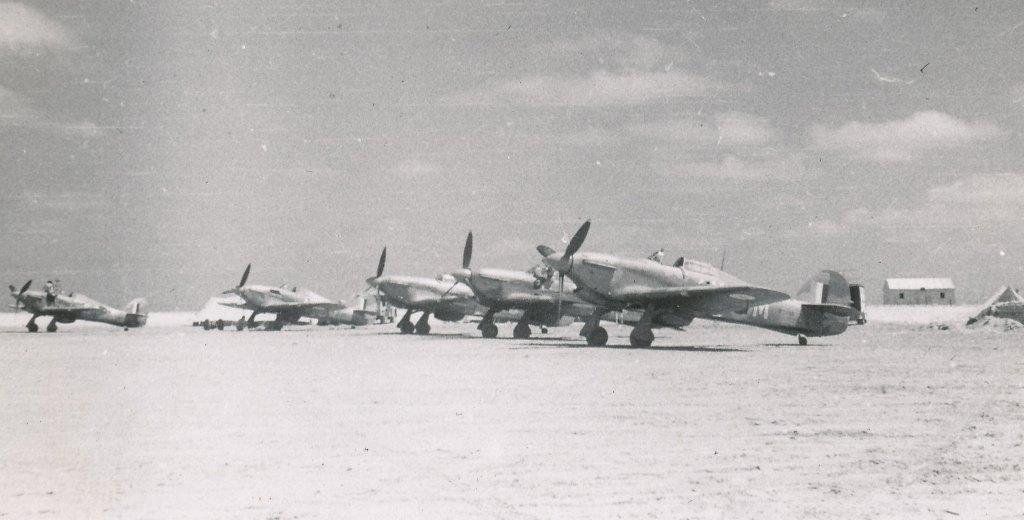Hawker Hurricane IIb SAAF 1Sqn AXM 23rd Jul 1942 01