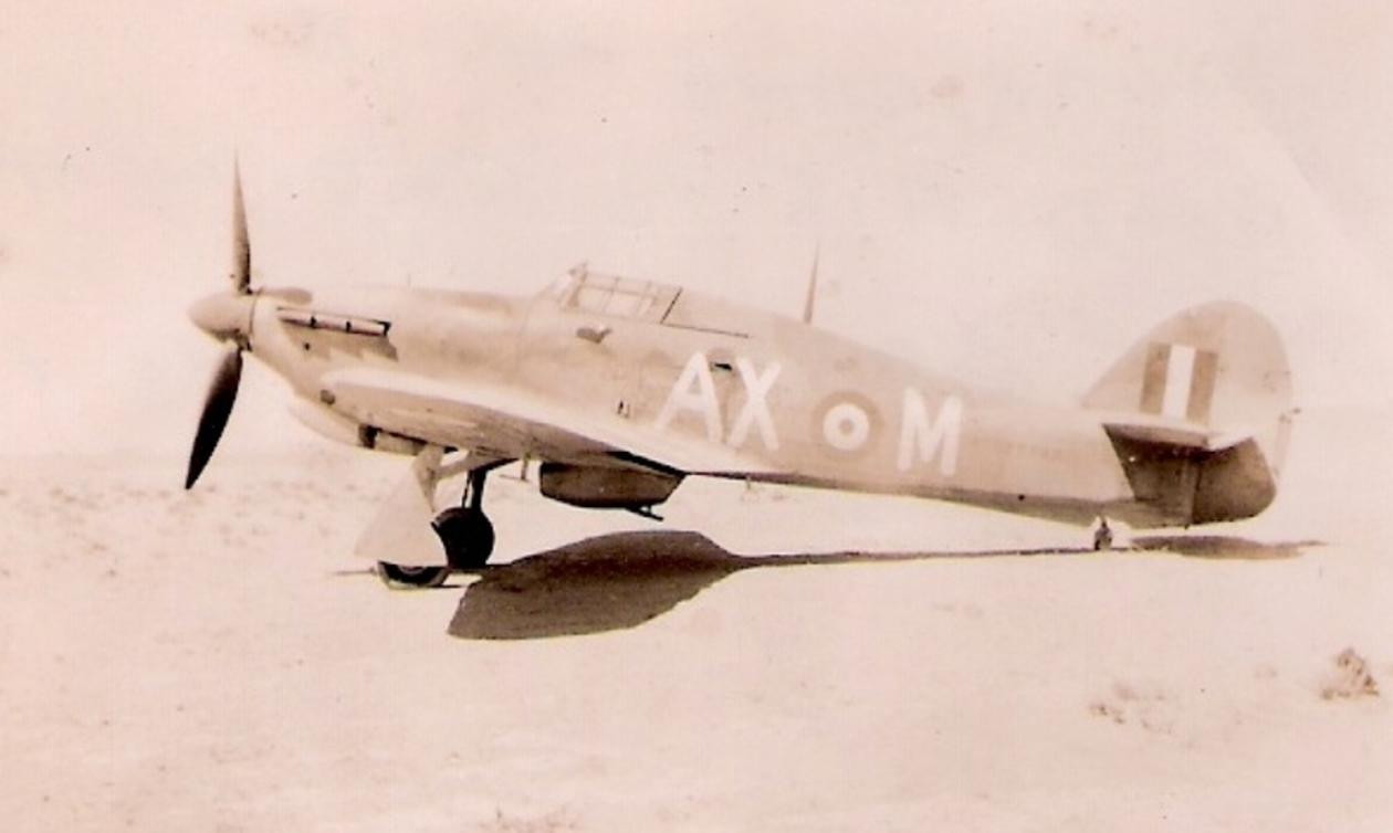Hawker Hurricane IIb SAAF 1Sqn AXM Jerks Maclean Z5348 1942 01