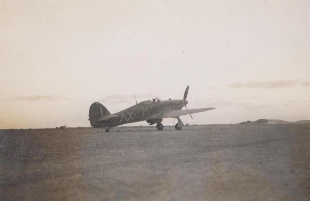 Hawker Hurricane IIb SAAF 1Sqn AXM Jerks Maclean Z5348 1942 05